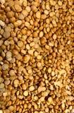Torkade linser, detaljhandel i stora partier, naturligt matlager arkivfoton