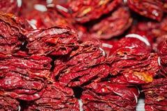 torkade peppar Royaltyfria Bilder
