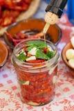 Torkade tomater Royaltyfria Foton