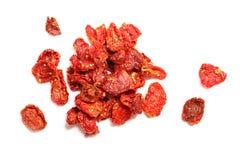 Torkade tomater Arkivfoton