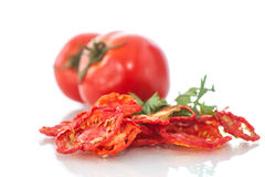 Torkade tomater Royaltyfri Fotografi