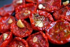 Torkade tomater Royaltyfri Foto