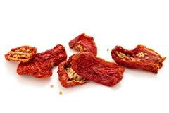 Torkade tomater Arkivbilder
