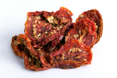 Torkade tomater Arkivfoto