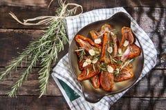 Torkade tomater och rosmarin Royaltyfria Foton