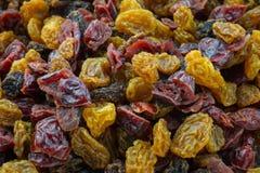 Torkat - combo frukt Arkivfoton