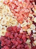 torkat - frukt Royaltyfria Bilder