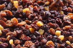 torkat - frukt Arkivfoton