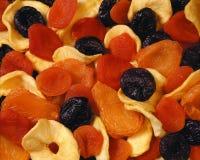 torkat - frukt Royaltyfri Fotografi