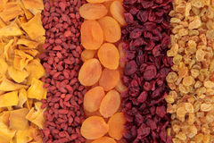 Torkat - frukt Royaltyfria Foton
