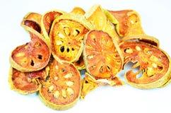Torkat - frukt. Arkivbild