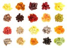 Torkat - fruktsamling Royaltyfri Bild