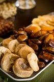 Torkat - fruktstilleben Royaltyfri Bild