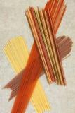 Torkat spagettiabstrakt begrepp Royaltyfri Fotografi