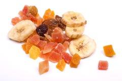 torkat - tropisk frukt Royaltyfria Bilder