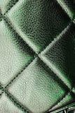 Torkduk för märkes- tyg för Fauxläder materiell som bakgrundsmodell Texturcloseupfoto Royaltyfria Bilder