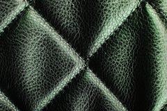 Torkduk för märkes- tyg för Fauxläder materiell som bakgrundsmodell Texturcloseupfoto Royaltyfri Foto