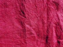 Torkduk för rosa färgfärgbomull Arkivfoton