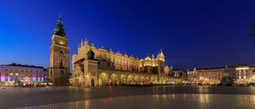 Torkdukekorridorer Krakow Royaltyfri Foto