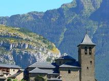Torla, Huesca (西班牙) 免版税库存照片