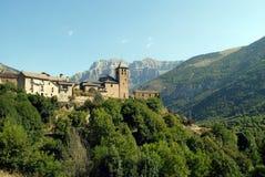 Torla-España Foto de archivo