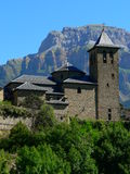Torla, Huesca (Hiszpania) Zdjęcia Royalty Free