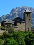 Torla, Huesca (Spagna) Fotografie Stock Libere da Diritti