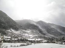 Torla-Ordesa, Pyrenees, Espanha fotos de stock