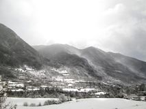 torla, Pyrenees, Hiszpania zdjęcia stock