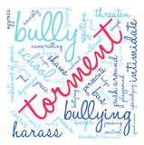Torment Word Cloud Stock Images