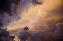 Tormenta Clouds1 Foto de archivo libre de regalías