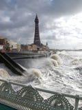 Tormenta de Blackpool Imagenes de archivo
