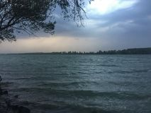 Tormenta de Danubio foto de archivo libre de regalías
