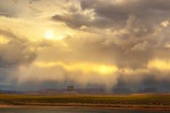 Tormenta de desierto Fotos de archivo