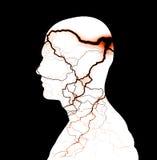 Tormenta de la mente ilustración del vector