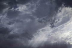 Tormenta de la monzón en Arizona Foto de archivo