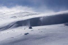 Tormenta de la nieve Foto de archivo libre de regalías