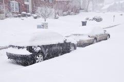 Tormenta de la nieve en Kentucky Imagenes de archivo