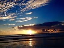 Tormenta de la salida del sol Foto de archivo