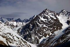 Tormenta de los Andes Fotos de archivo