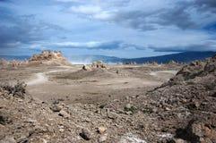 Tormenta de polvo Foto de archivo