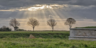 tormenta del claro Foto de archivo libre de regalías