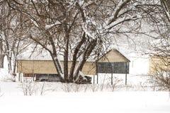 Tormenta del febrero de 2010 Fotos de archivo libres de regalías