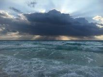 Tormenta del golfo Fotografía de archivo libre de regalías
