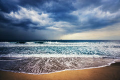 Tormenta del mar Fotos de archivo