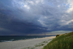 Tormenta del mar Fotografía de archivo