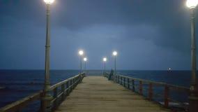 Tormenta del mar Foto de archivo libre de regalías
