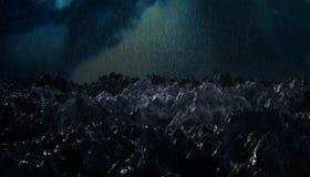 Tormenta del océano Imagenes de archivo