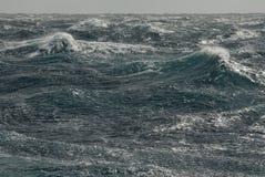 Tormenta del océano fotos de archivo