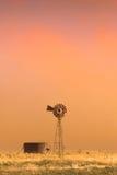 Tormenta del polvo Foto de archivo